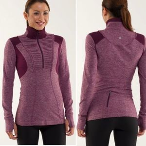 Lululemon Run Your Heart Out Pullover Jacket